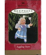 1997 New in Box - Hallmark Keepsake Christmas Ornament - Juggling Stars - $3.11