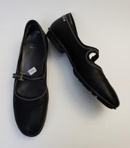Stuart Weitzman Shoes Flats Mary Janes Black Womens Size 7 M - $118.76
