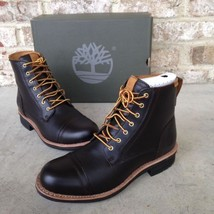 TIMBERLAND WILLOUGHBY 6 INCH DARK BROWN BOOTS MENS TB0A18KC Brand New. SZ:8 - $139.00