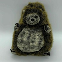 "Unipak Realistic Plush Beanbag Hedgehog Brown & Gray 11"" - $14.80"