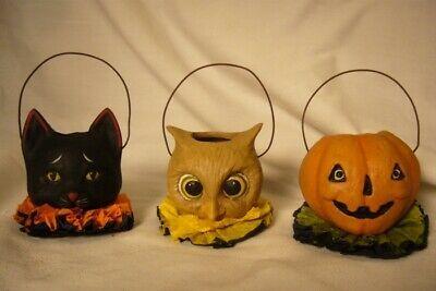 Bethany Lowe Halloween Pals Mini Ornaments