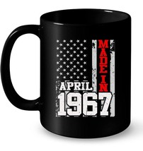 Made In Legends Born In APRIL 1967 Vintage 51 Yrs Years Old Gift Coffee Mug - $13.99+