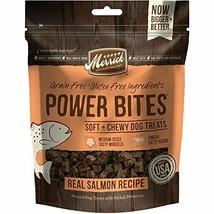 Merrick Power Bites Salmon Recipe Treats- 6 oz pack of 6 - $59.94
