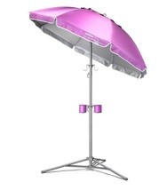 Beach Umbrella Sun Shade Portable Outdoor Sport... - $72.49