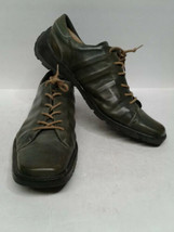 Kenneth Cole Reaction Men's Green Casual lace up Shoe us size 13 Oxford - $49.50