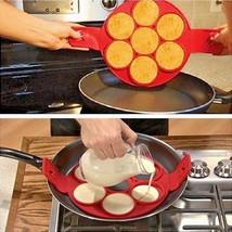 Non Stick Pancake Maker Egg Flippin Fantastic Baking Mold New Nonstick R... - $15.83