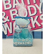 New Bath & Body Works You are so Mermazing! At the Beach 2 Pc Mini Gift Set - $16.82