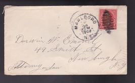 MARLBORO, NY TO NEWBURGH, NY JULY 10 1902  - $2.68