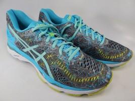 Asics Gel Kayano 23 Size 11 M (B) EU 43.5 Women's Running Shoes Gray Blue T6A5N