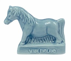 Wade Figurine whimsies whimsy England Red Rose tea miniature Gray Horse ... - $14.46