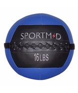 Soft Medicine Wall Ball for CrossFit Exercises Strength Training Balance... - $39.99
