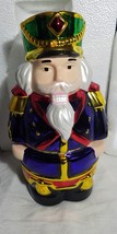 "Video-Original ""Mr Christmas"" 11"" Musical/Animated Nutcracker--30 Tunes-... - $39.00"
