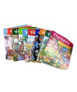 Highlights Childrens Magazine Lot 10 issues 1992  Branded Case Home School - $34.85