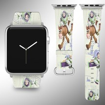 Toy Story Disney Apple Watch Band 38 40 42 44 mm Fabric Leather Strap 01 - $24.97