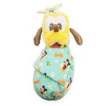 Disney Parks Baby Pluto in a Blanket Pouch Plush New with Tags - $36.12