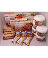 Nutrisystem Lot Of 7 Dinners, 5 Lunches, 4 Crush Bars, 1 Snack - $50.00