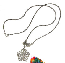 ¦Women's Beautiful Flower Bead Bali Necklace »CH16 VINTAGE DESIGN! - $32.26