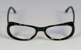 Fossil Emma Tortoise  Black Plastic Eyeglass Frames Designer Style Rx Eyewear - $9.12