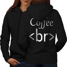 Programmer Code Sweatshirt Hoody HTML Text Women Hoodie Back - $21.99+
