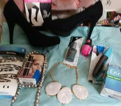 Beauty Box : High Heels,Jewelry, Makeup, Nail Polish and Accessories Bundle - $17.00