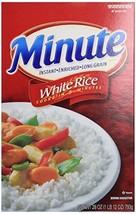 Minute Rice White, 28 oz