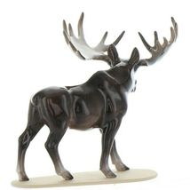 Hagen Renaker Miniature Bull Moose on Base Ceramic Figurine image 6