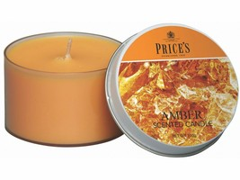 Amber scented candle-100gms--prices - $8.49