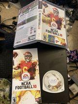 UMD  NCAA FOOTBALL 10 2009 EA SPORT PSP Game,  CASE & MANUAL Complete -F... - $23.36
