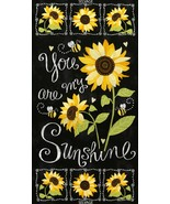You Are My Sunshine Panel by Timeless Treasures - $11.95