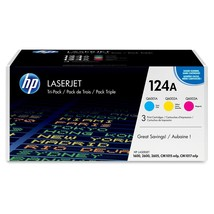 HP 124A Original Toner Cartridge - Laser - 2000 Pages - Assorted - $236.53