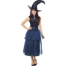 Moon Light Witch Costume - Midnight Blue , Inc Hat  - $50.27