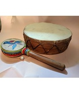 Hand Drum and Tic Toc Instrument - $25.00