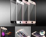 Real Tempered Glass Screen Film for iPhone 7/6s/6/Plus 3D Curved Full Protector
