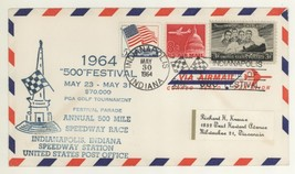 1964 Indianapolis 500 Festival $70,000 PGA Golf Tournament Cover! - $6.99