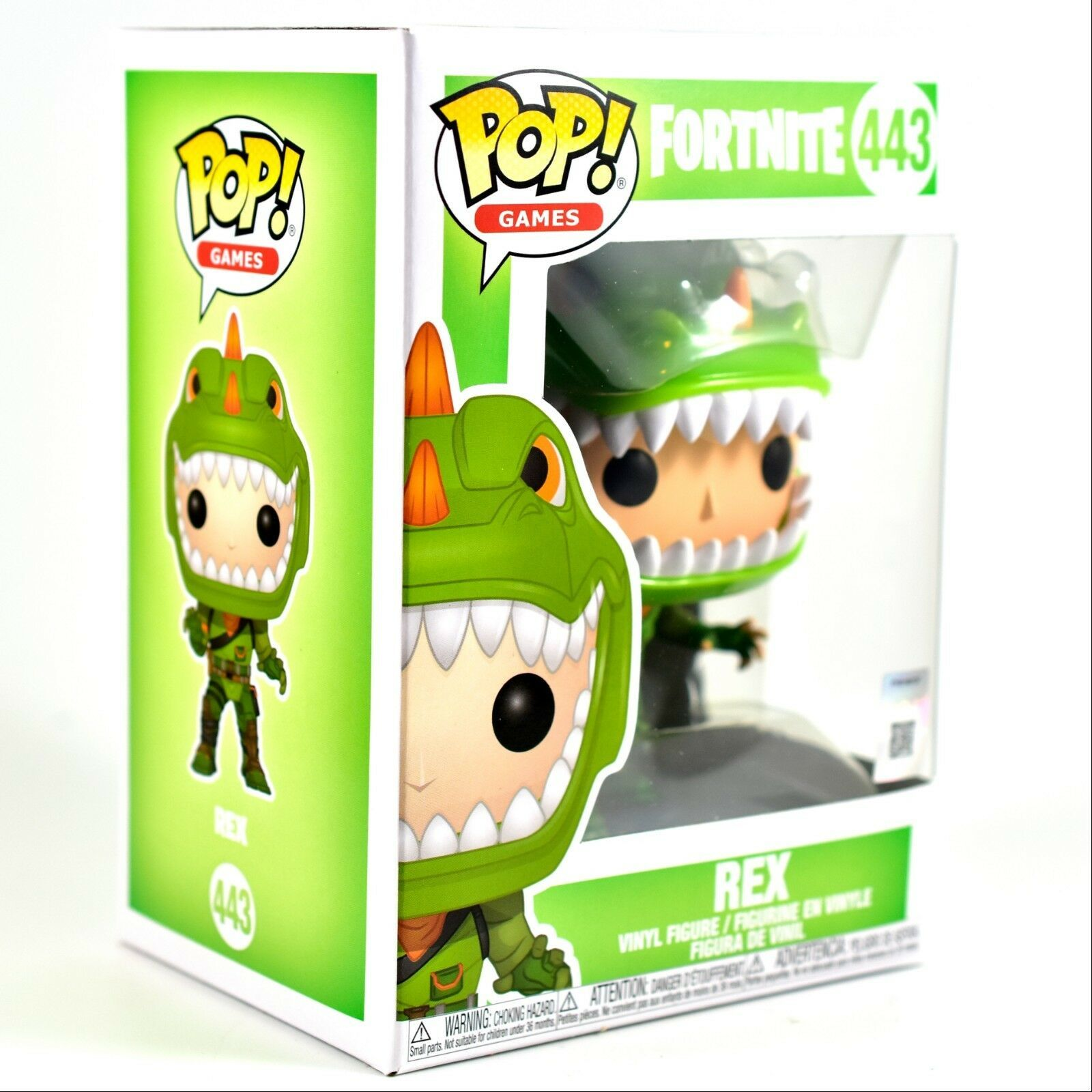 443 Vinyl-personaggio circa 10cm grandi Funko Pop Games fortnite//REX n
