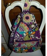 Vera Bradley Sling Tennis Backpack in Plum Crazy   - $62.00
