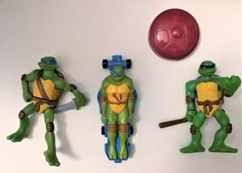 Teenage Mutant Ninja Turtles Happy Meal Toys Leo & Donnie Set of 3 - $3.46