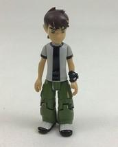 "Benjamin Kirby Tennyson Ben 10 Cartoon Network 4"" Bandai Action Figure 2006 - $13.81"