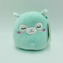 "Squishmallows Miley Llama Green 5"" Easter Stuffed Animal Kellytoy NWT - $15.99"