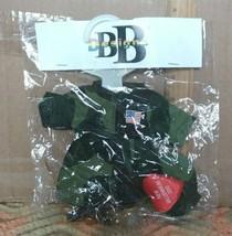 BB Designs - battle uniform with weapon. for beanie babies - $14.99