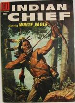 INDIAN CHIEF# 19 Jul-Sept 1955 White Eagle Painted Front Cover GA: 9.0 V... - $65.00