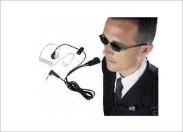 1 Micro Headset Transparent for Motorola And Cobra Of 1 Pin Type Fbi Wit... - $11.82