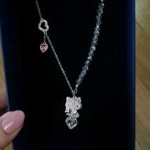 Swarovski x Hello Kitty Angle Kitty Necklace Pendant Limited Edition w/Box Used - $191.09