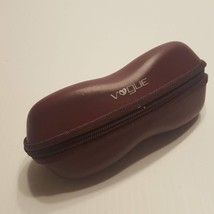 Vogue sunglasses eyeglasses case. Semisoft, zip around. Pre-owned, good ... - $10.00