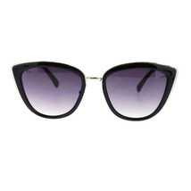 Diva Womens Rectangular Large Metal Bridge Plastic Cat Eye Oversized Sunglasses - $7.95