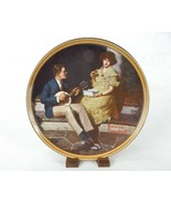 "Norman Rockwell Plate, ""Pondering on the Porch"", 3rd Rediscovered Women,... - $12.69"