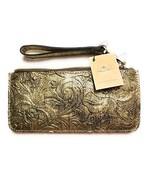 Patricia Nash St. Croce Wristlet, Gold Metallic - $55.00