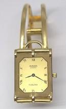 RADO QUARTZ FLORENCE LADIES WATCH 1353367.2 WITH 18K  GOLD BAND #40432 DBW - $1,781.01