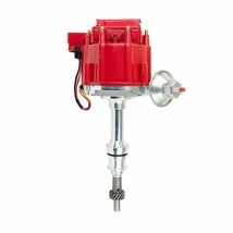 SBF Ford Small Block 351W Windsor HEI Ignition Red Cap Distributor 65K Coil