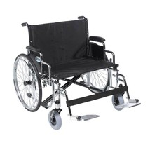 Drive Medical Sentra EC With Desk Arm and Footrests 28'' - $679.45